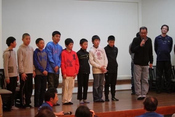 第14期 卒団式